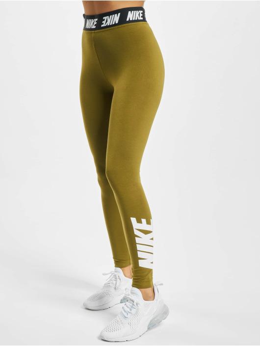 Nike Leggings/Treggings Club HR oliven