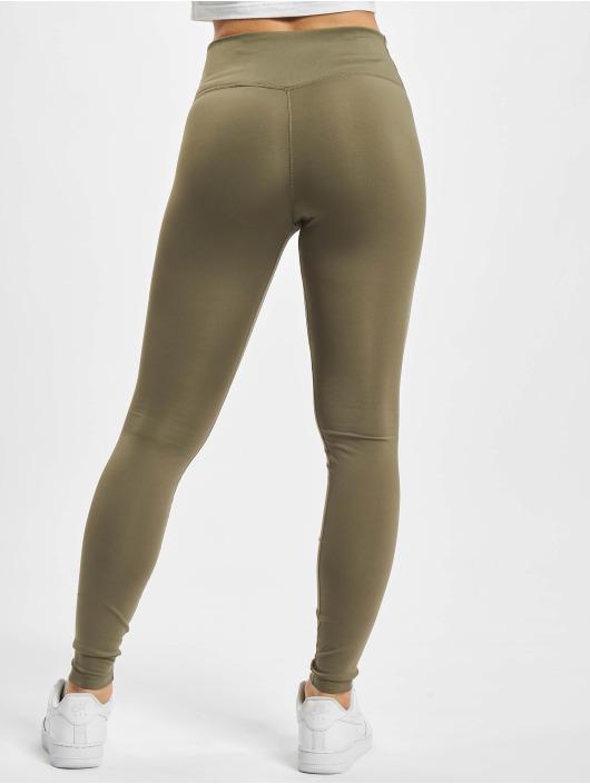 Nike Leggings/Treggings One oliwkowy
