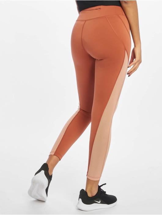 Nike Leggings/Treggings Epic Lux 7/8 Mesh MR oransje