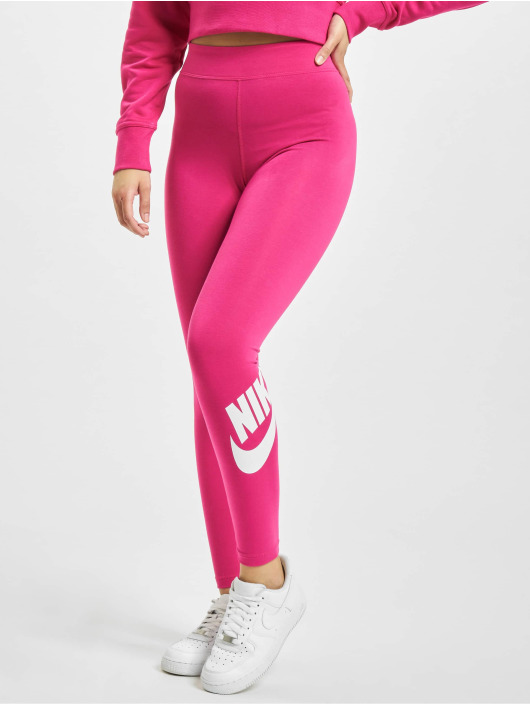 Nike Leggings/Treggings Sportswear Essential GX HR pink