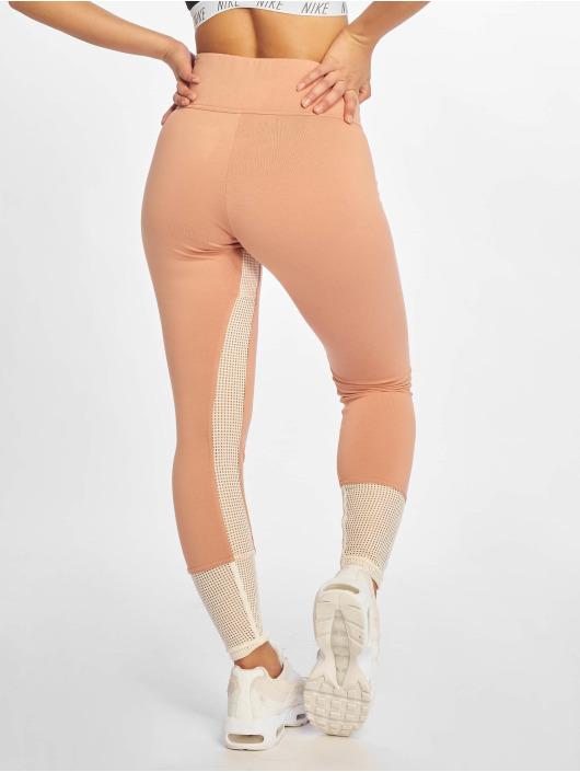 Nike Leggings/Treggings Mesh rosa
