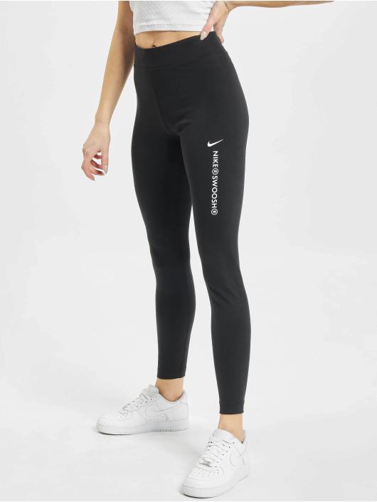 Nike Leggings/Treggings W Nsw Swsh Hr sort