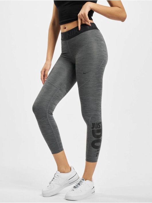 Nike Leggings/Treggings Pro Tight 7/8 HTR JDI svart