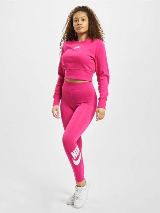 Nike Leggingsit/Treggingsit Sportswear Essential GX HR vaaleanpunainen
