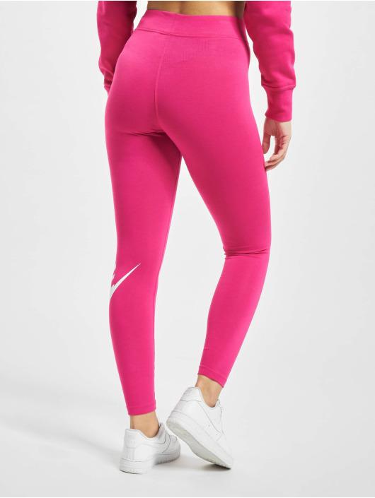 Nike Leginy/Tregginy Sportswear Essential GX HR růžový