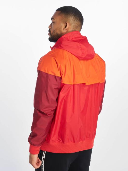 Nike Lightweight Jacket M Nsw He Wr Jkt Hd red