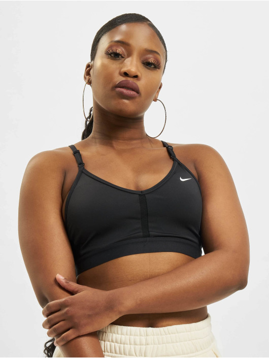 Nike Lingerie W Nk Df Indy V-Neck noir