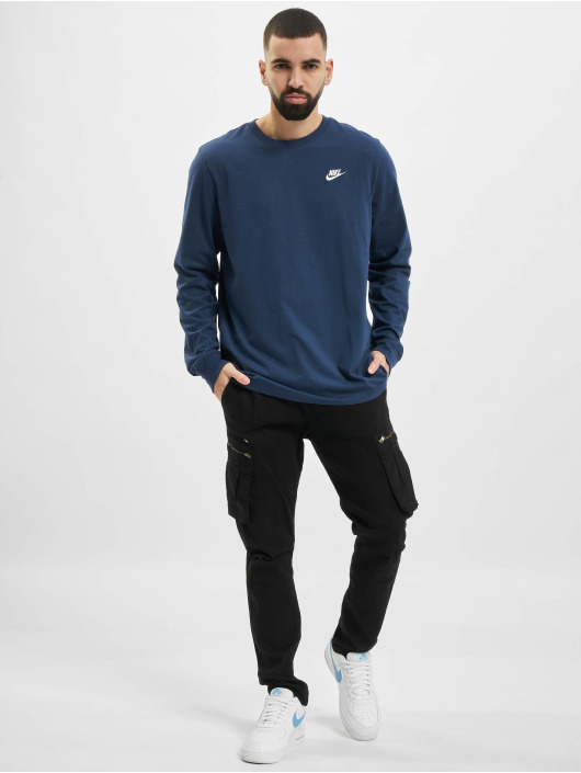 Nike Longsleeve M Nsw Club blau