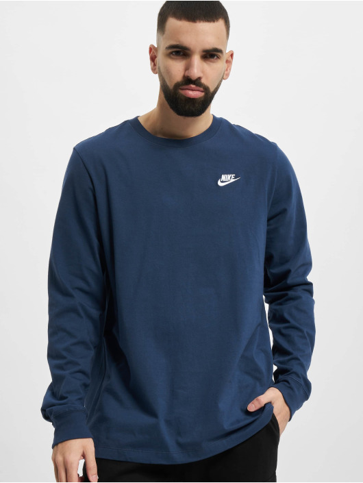 Nike Longsleeve M Nsw Club blauw