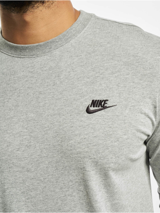 Nike Longsleeve Club Longsleeve grau