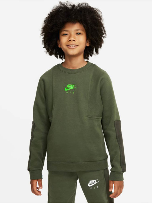 Nike Longsleeve Air Crew grün
