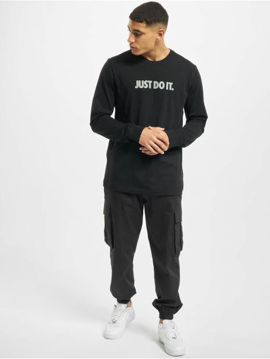 Nike Longsleeve JDI Cut Out LBR schwarz