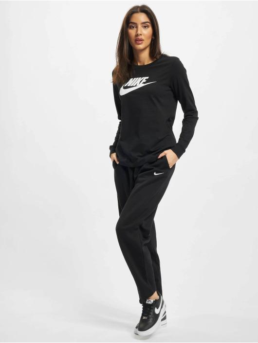 Nike Longsleeve Essntl Icon schwarz