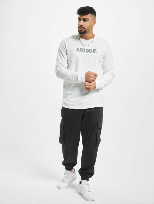 Nike Longsleeve JDI Cut Out LBR white