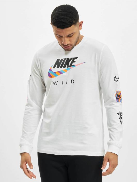 Nike Longsleeves M Nsw Wild Futura bialy