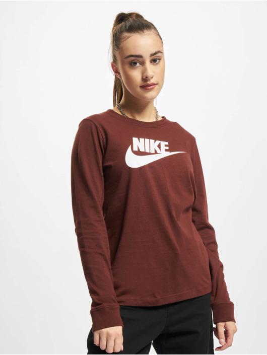 Nike Longsleeves NSW Icon FTR brazowy