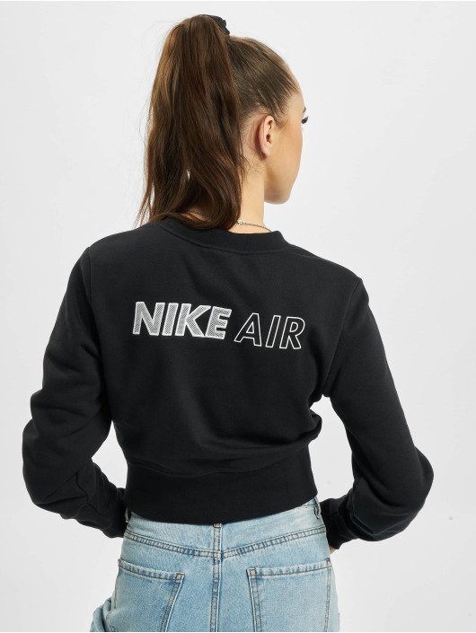 Nike Longsleeves Air Crew Fleece czarny