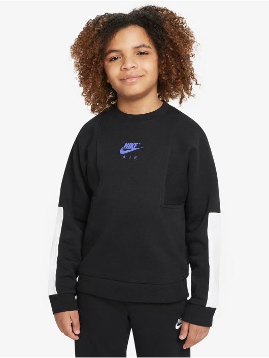 Nike Longsleeves Air Crew czarny