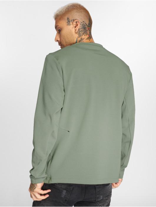 Nike Longsleeves Sportswear olivový