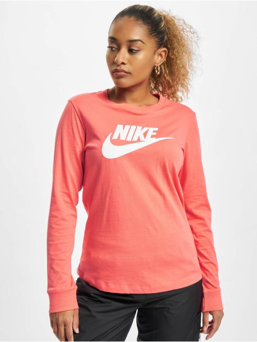 Nike Longsleeves Essntl Icon pomaranczowy