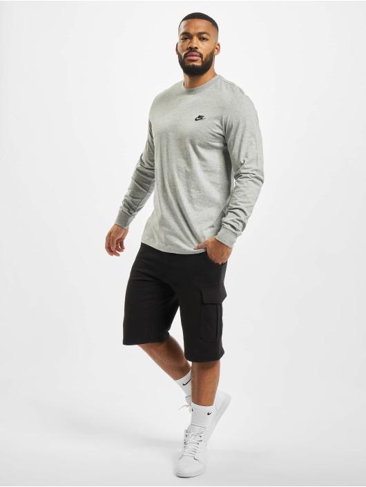 Nike Longsleeves Club Longsleeve szary