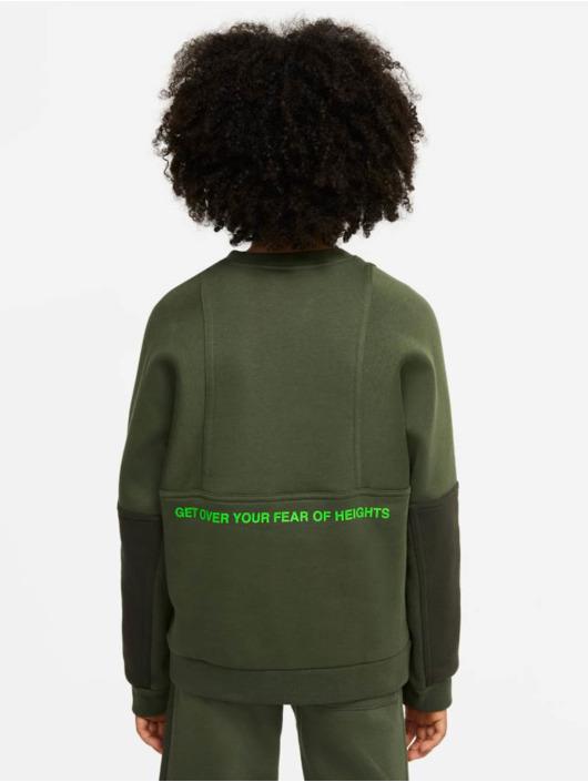 Nike Longsleeves Air Crew zielony