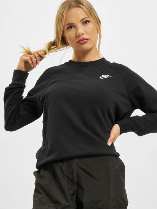 Nike Maglia Essential Crew Fleece nero