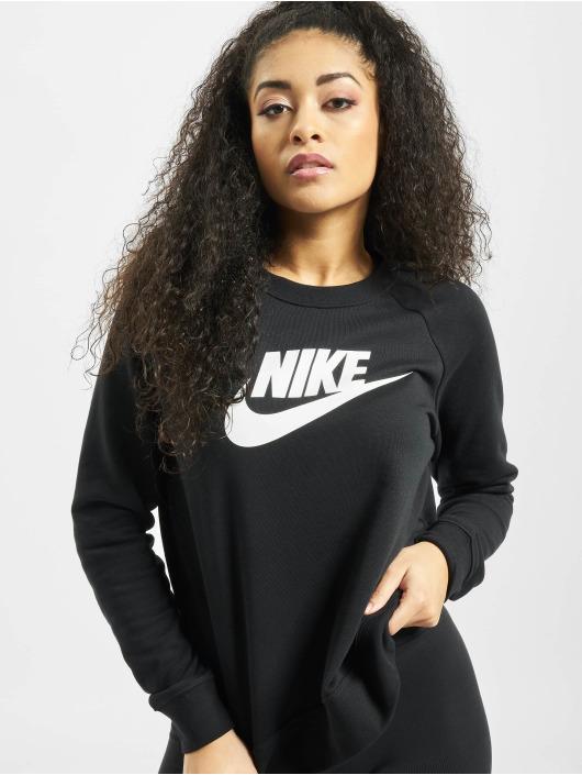 Nike Maglia Essential Crew Fleece HBR nero