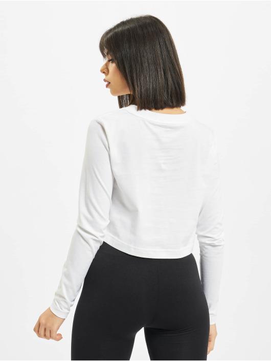 Nike Maglietta a manica lunga LS Lux 3 Crop bianco