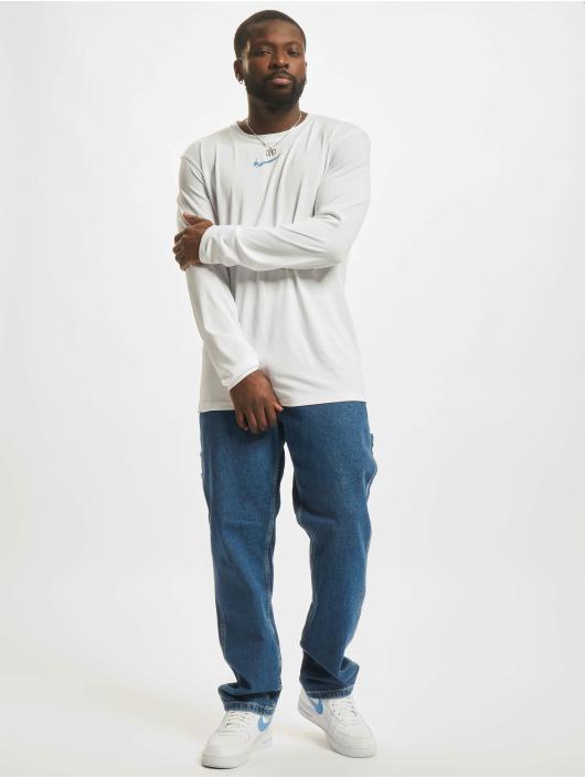 Nike Maglietta a manica lunga Dri-Fit bianco