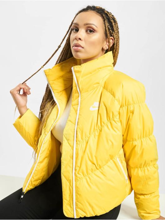 Nike Manteau hiver Down Fill jaune