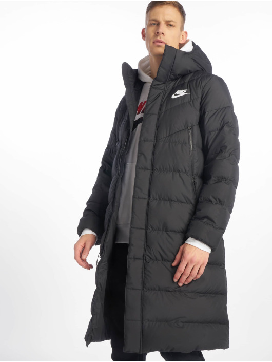 BlackBlackBlackWhite Nike Sportswear Winter Jacket Windrunner xedBorC