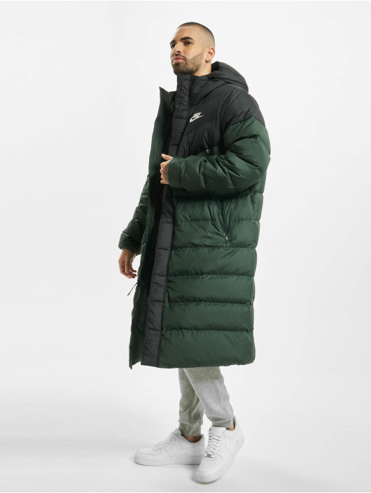 Nike Manteau hiver Down Fill Windrunner vert