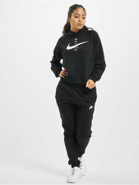 Nike Mikiny Swoosh Fleece èierna