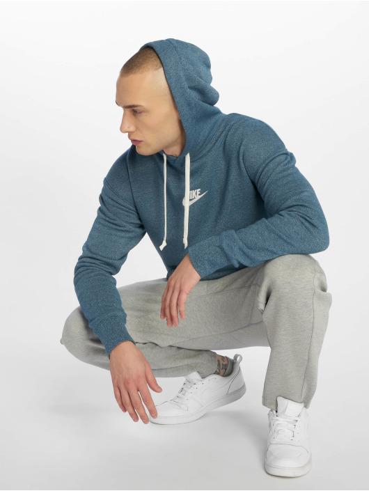 Nike Mikiny Sportswear Heritage modrá