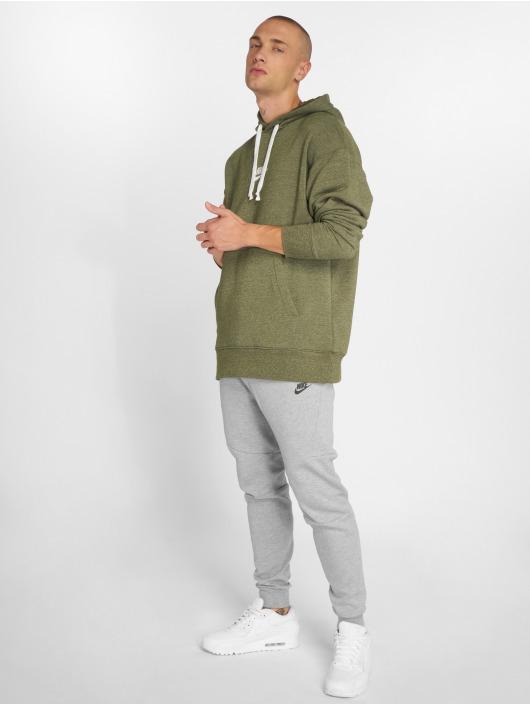 Nike Mikiny Sportswear Heritage olivová