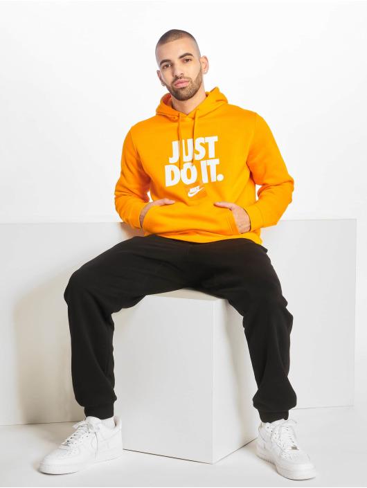 Nike Mikiny JDI PO Fleece oranžová