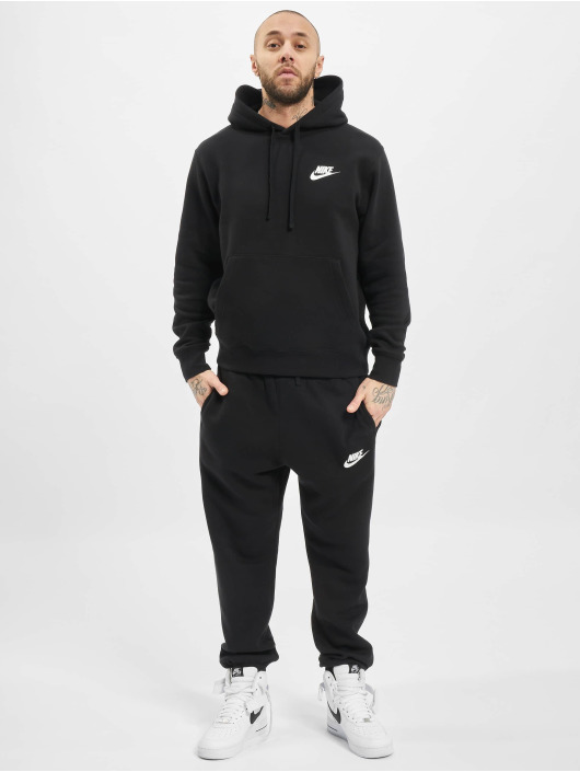 Nike Mjukiskläder M Nsw Ce Flc Trk Suit Basic svart