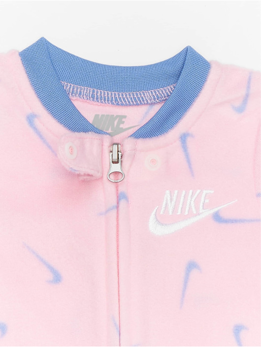 Nike Monos / Petos Nkg Swooshfetti Footed fucsia