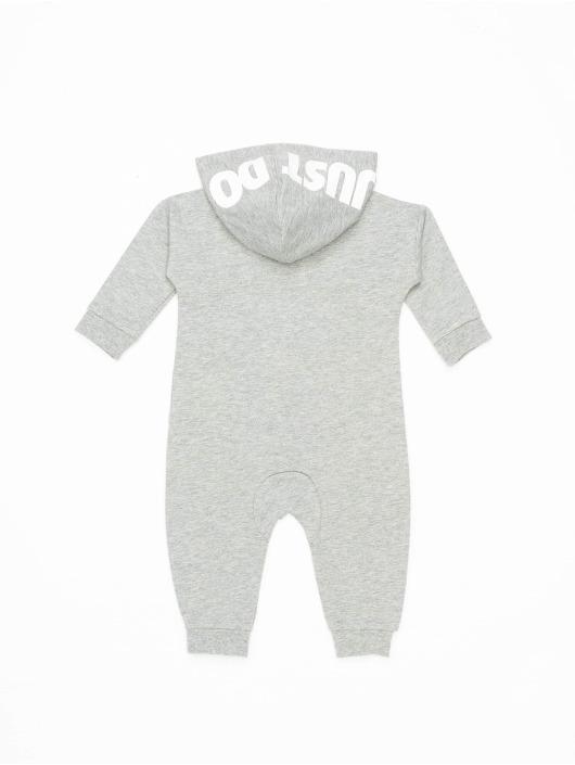 Nike Overály Nkn Hooded Baby Ft Coverall šedá