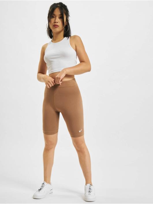 Nike Pantalón cortos Biker marrón