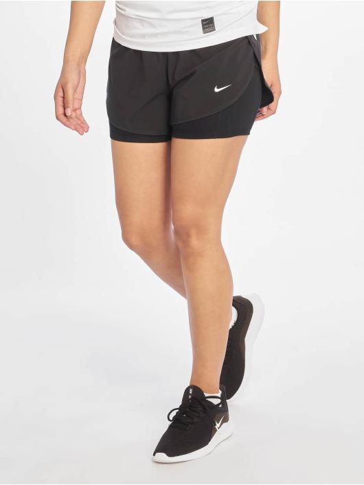 Nike Pantalón cortos Flex 2in1 Woven negro