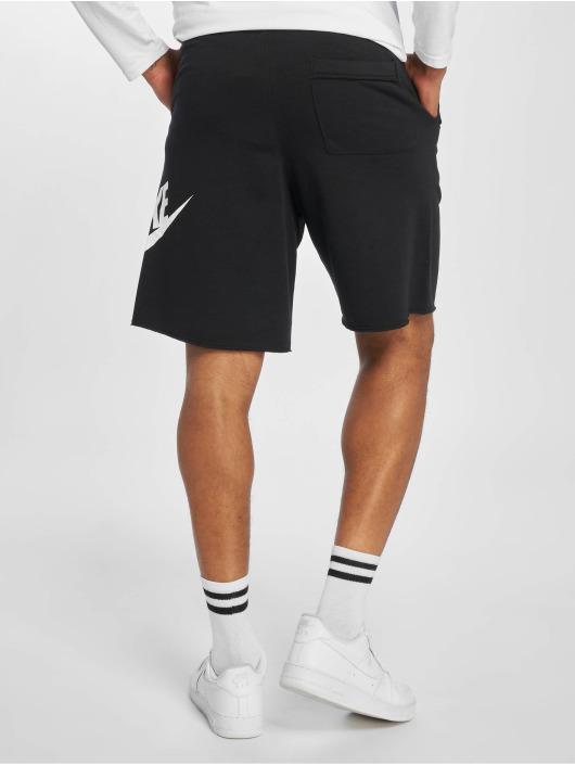 Nike Pantalón cortos HE FT Alumni negro
