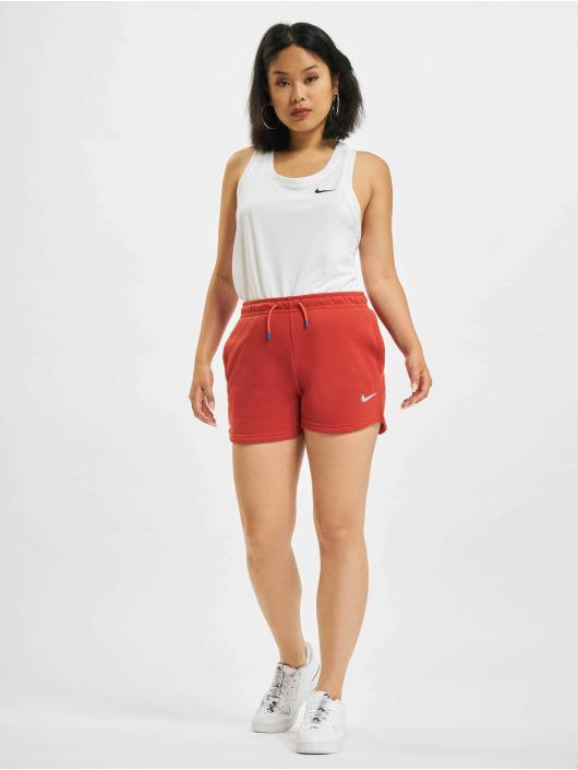 Nike Pantalón cortos Print rojo