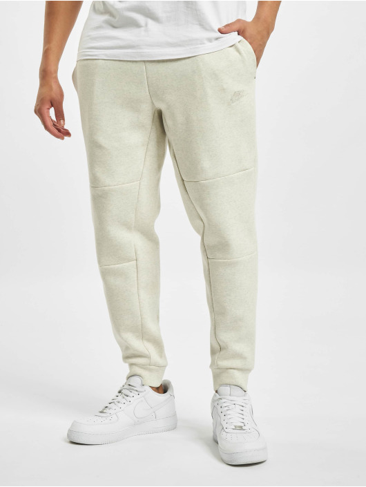 Nike Pantalone ginnico M Nsw Tech Flc Revival bianco