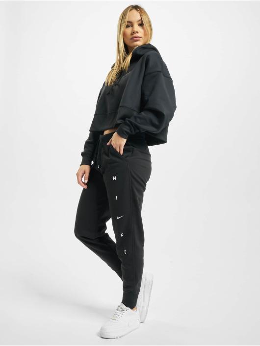 Nike Pantalone ginnico Dry Get Fit Flc nero