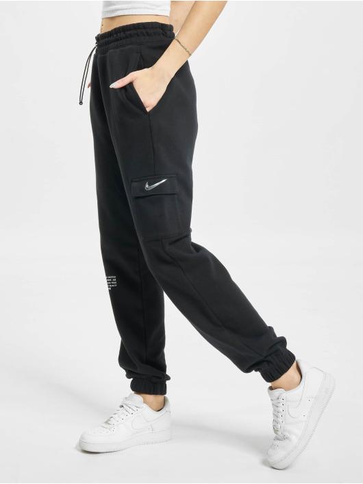 Nike Pantalone ginnico W Nsw Swsh nero