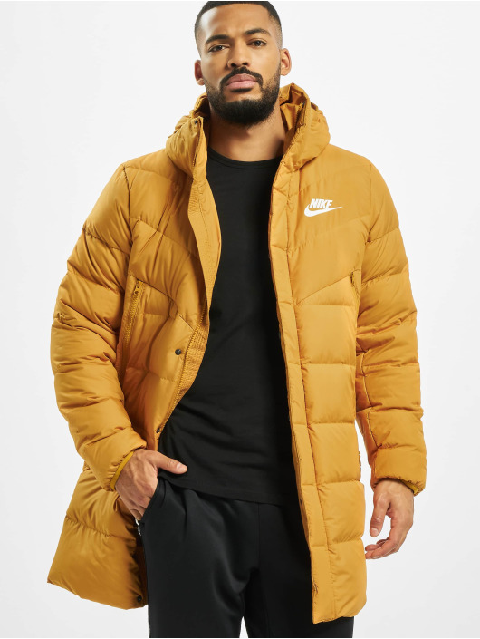 Nike Parka Down Fill Windrunner Parka HD Rus gold colored