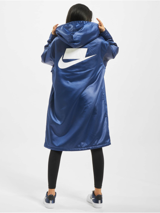 Nike Parka Synthetic Fill niebieski