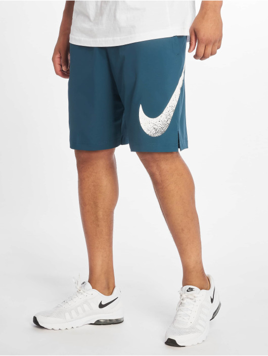 Nike Performance Šortky Flex Short Wooevn 2.0 GFX 1 tyrkysová